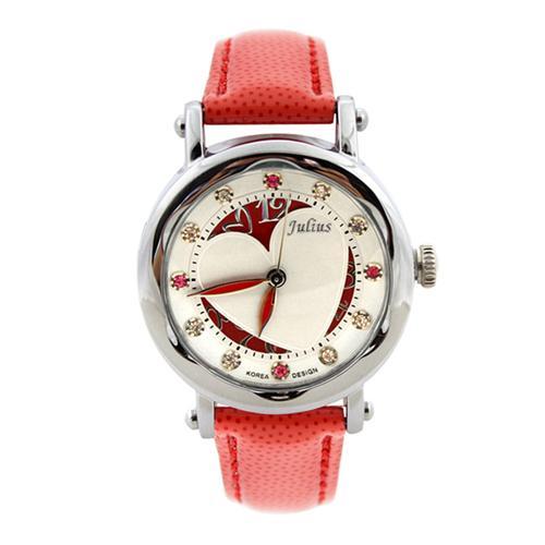 Đồng hồ nữ ô cửa trái tim Julius JA-792
