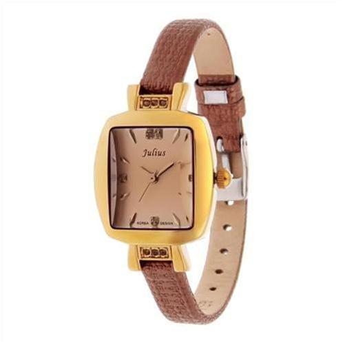 Đồng hồ nữ Julius JA572 da thật