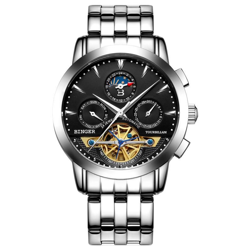 Đồng hồ nam chronograph Binger