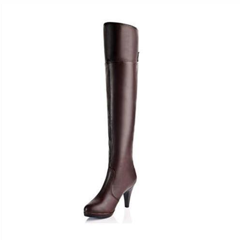 Giày bốt nữ ống cao YiYa YY87759 ôm dáng điệu đà