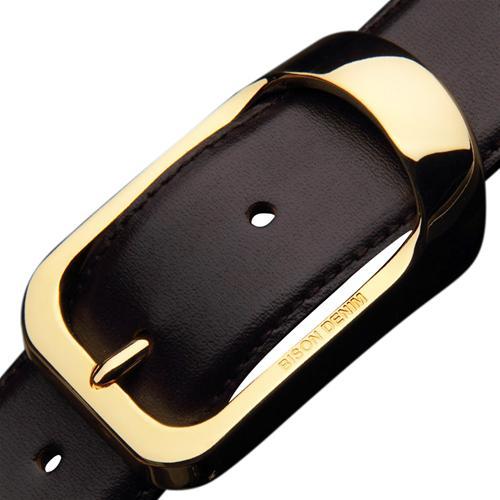 Dây lưng nam khóa đồng đúc Bison Denim N70883