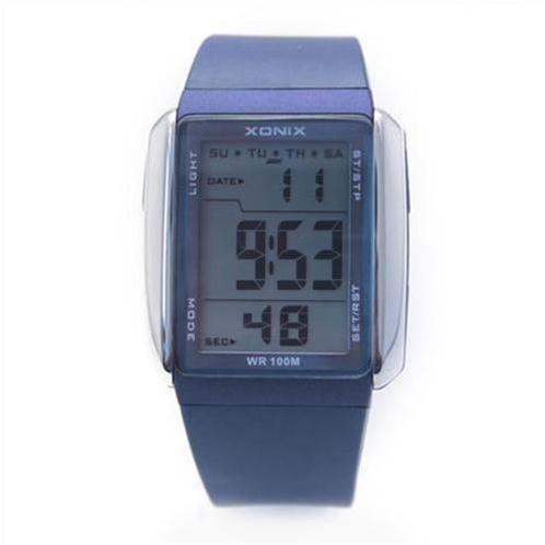 Đồng hồ thể thao XONIX FJ mặt chữ nhật mạnh mẽ