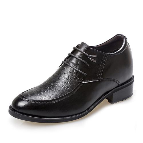 Giày da nam tăng chiều cao GOG CP53570 Hoa văn ấn tượng