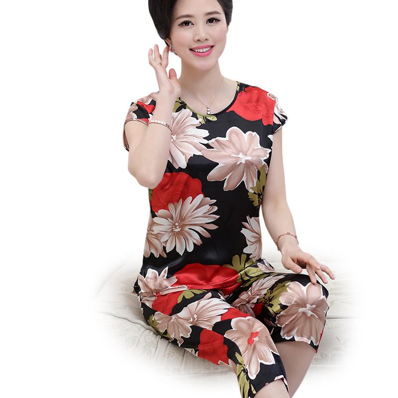 Bộ lửng nữ in hoa bóng SMT