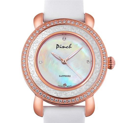 Đồng hồ nữ Pinch L613-P11L kim dạ quang mới