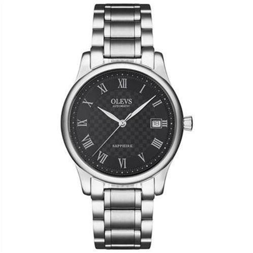 Đồng hồ nam mặt tròn cổ điển Olevs L37