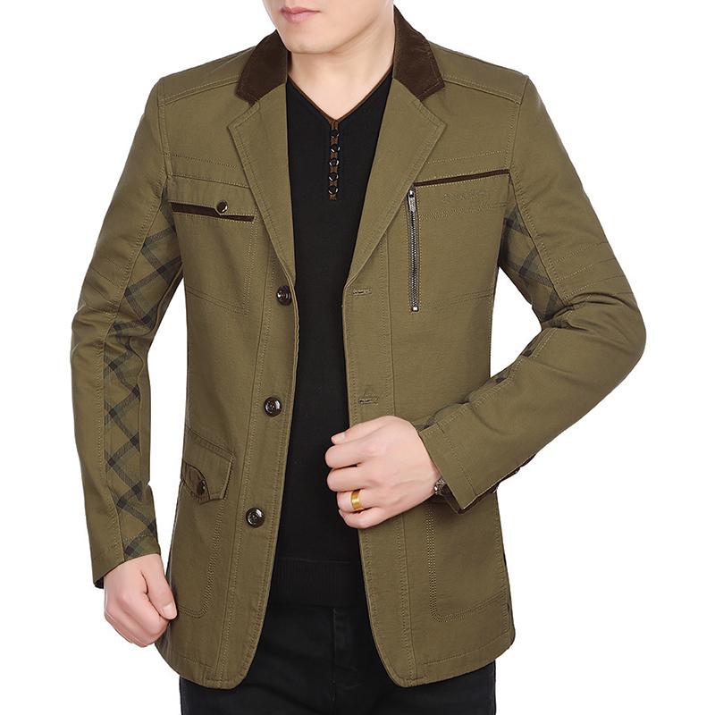 Áo Jacket nam giả vest KSLPT phối kẻ caro