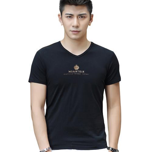 Áo T-Shirt nam cổ chữ V Sinhillze họa tiết MSARTEIH