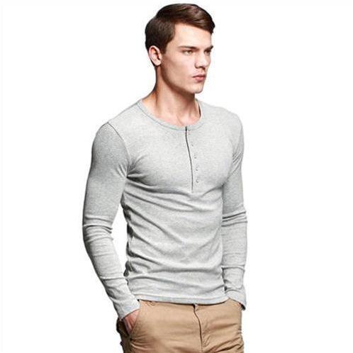 T-Shirt nam dài tay K-Jeans ST-807