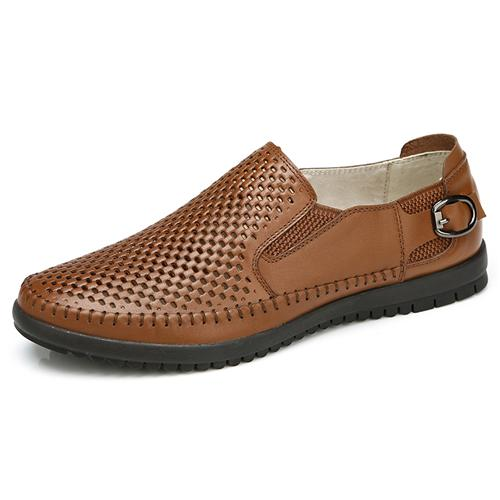 Giày da nam đục lỗ Olunpo XFR1501