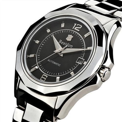 Đồng hồ cơ tự động nam mặt sapphire Bestdon