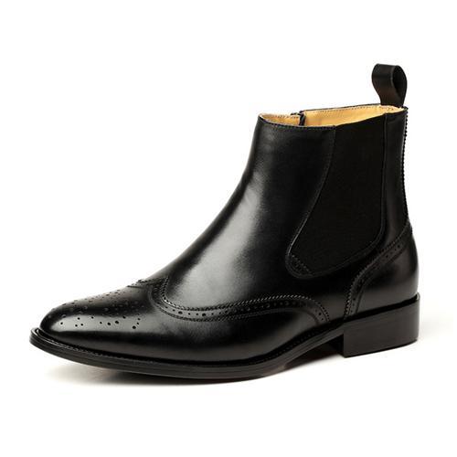 Giày boot nam VANGOSEDUN VG8661 khóa kéo dễ dùng