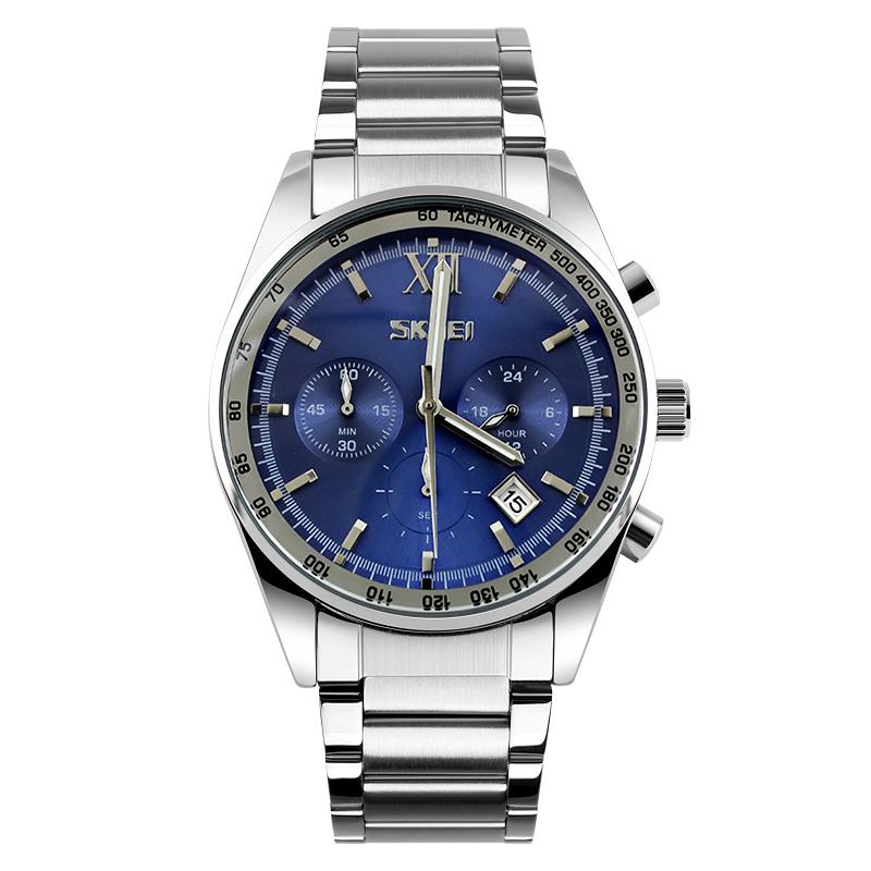 Đồng hồ nam 6 kim Tachymeter Skmei 9096