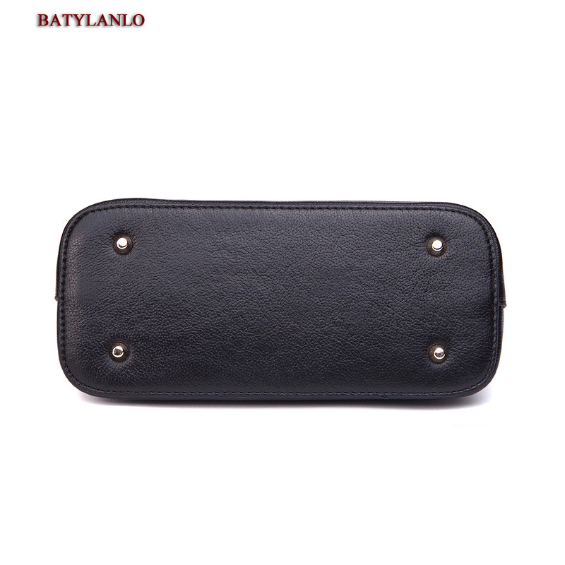 Túi đeo vỏ hến da bò nữ Batylanlo