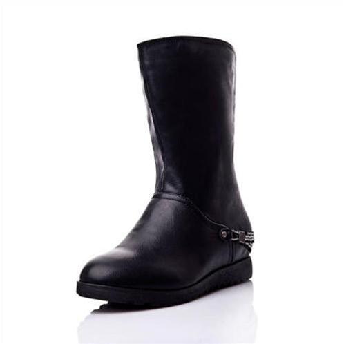 Giày bốt nữ thời trang cá tính YiYa YY82187