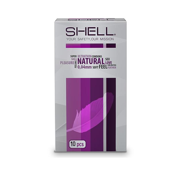 Bao cao su Shell Natural Superthin