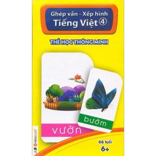 Thẻ học thông minh - Ghép vần - Xếp hình Tiếng Việt 4