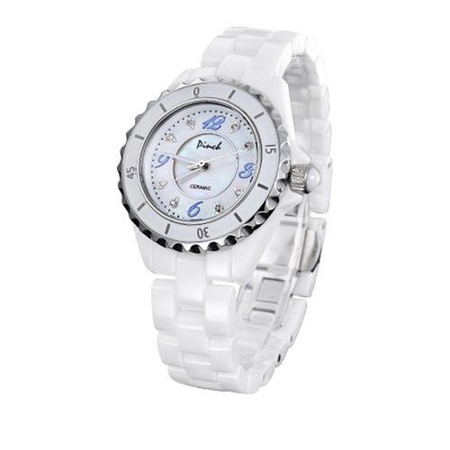 Đồng hồ nữ dây gốm Pinch L06-P05 khóa gập
