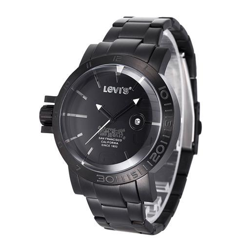 Đồng hồ nam Levis LTG1404 núm chỉnh giờ to bản