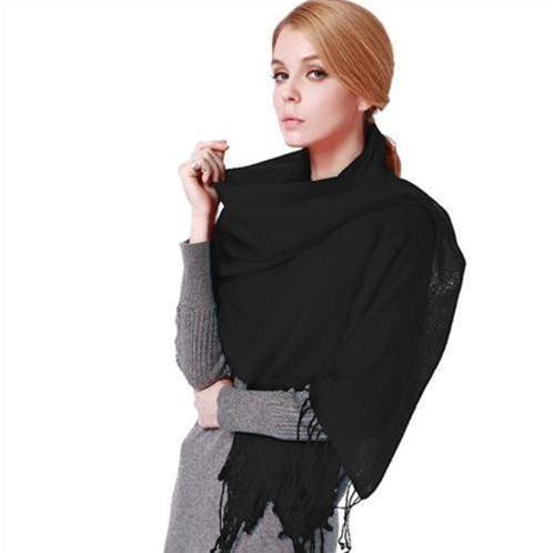 Khăn choàng thời trang nữ 100% len - Phong cách quý bà hiện đại