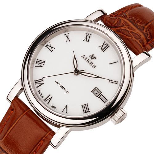 Đồng hồ nam Aiers D113G phong cách Thụy Sĩ