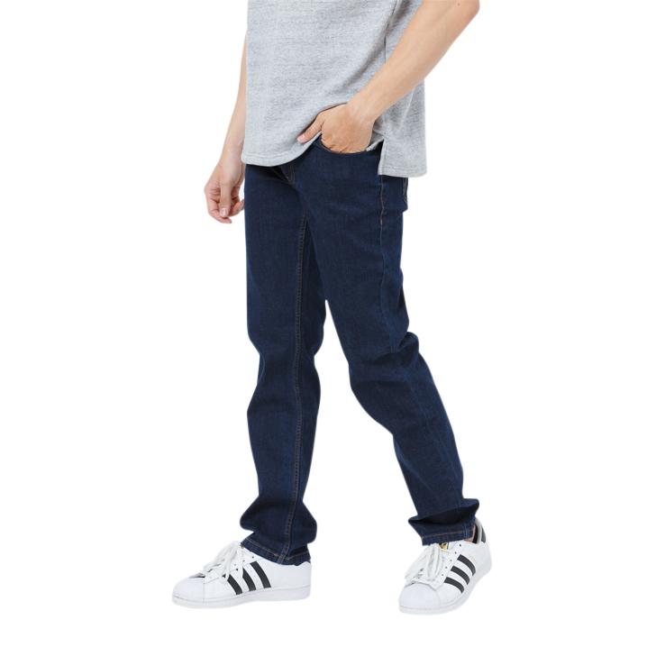 Quần jeans nam classic fit xanh đậm Mattana