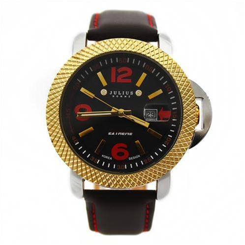Đồng hồ nam Julius JAH-004 nút điều chỉnh ẩn