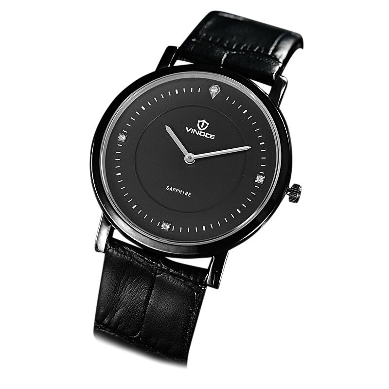 Đồng hồ nam siêu mỏng 2 kim Vinoce
