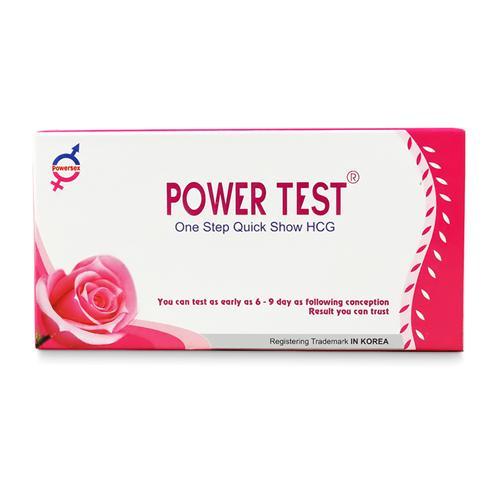 Que thử thai nhanh hCG Powertest 3.0 mm