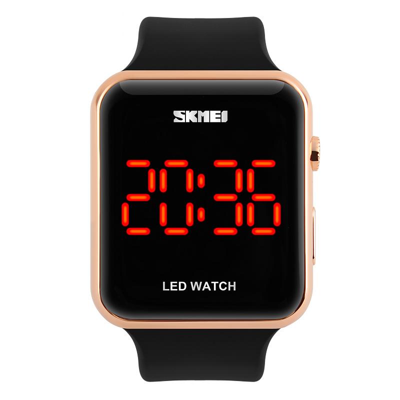 Đồng hồ điện tử Led Skmei Uniex Square