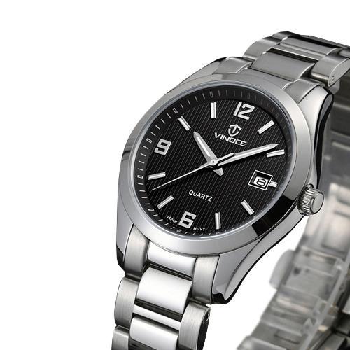 Đồng hồ nam máy Quartz Vinoce 8380 thiết kế độc đáo