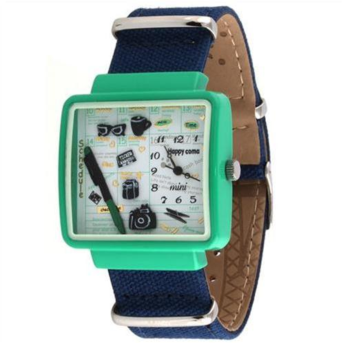Đồng hồ mặt chữ nhật Mini MN937 sắc màu cá tính