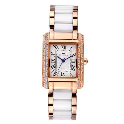 Đồng hồ nữ dây gốm sứ Brigada 8007