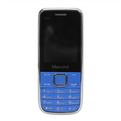 Điện thoại Masstel C200 - Màu xanh (tặng kèm sim Viettel)