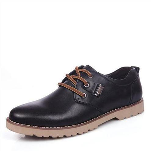 Giày da nam Simier phong cách lịch lãm - Đế kếp