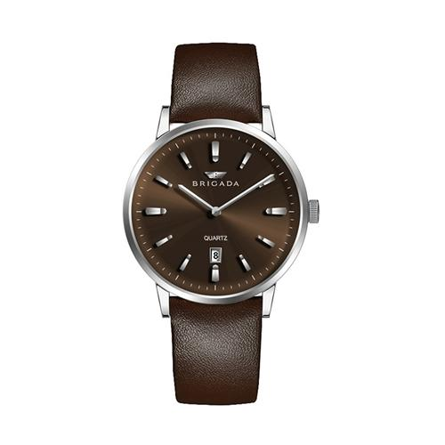 Đồng hồ nam hai kim thời trang Brigada BJD-3009G