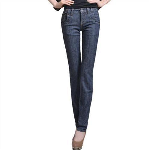 Quần Jeans nữ ống đứng Bulkish