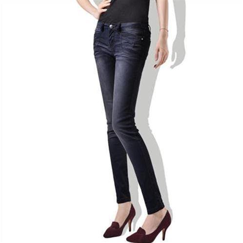 Quần Jeans nữ Bulkish ống bút chì tạo dáng đôi chân thon dài