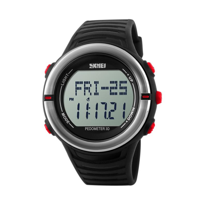 Đồng hồ thể thao đếm bước chân và đo nhịp tim nam Skmei 1111