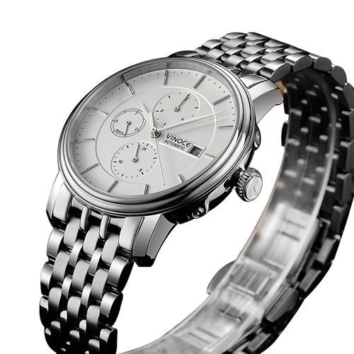 Đồng hồ nam sáu kim Vinoce 633230G chống nước