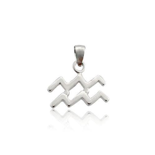 Mặt dây chuyền cung Bảo Bình (Bảo Bình (N1))-AG256-1