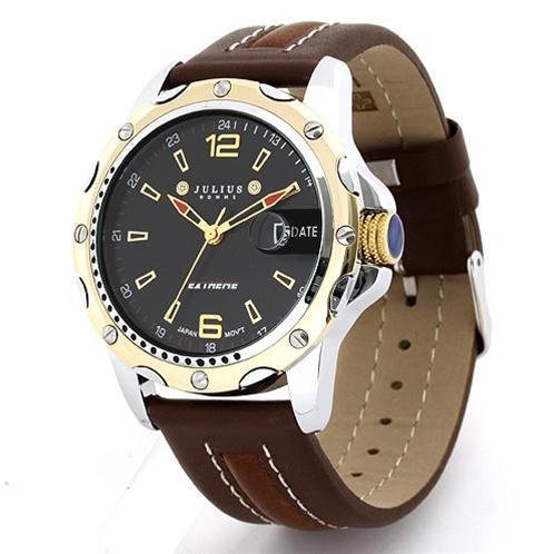 Đồng hồ nam máy Quartz Julius JAH-007