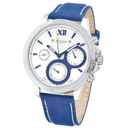 Đồng hồ nam Julius JAH-055 - đồng hồ nam dây vải