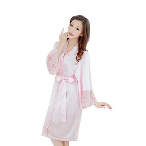 Bộ đồ ngủ áo choàng nữ Hamuse có tay
