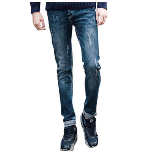 Skinny Jeans nam mài xước No1dara