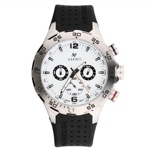 Đồng hồ nam Aiers B120G dây silicone dẻo dai