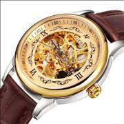 Đồng hồ nam Aiers B125G mặt rỗng