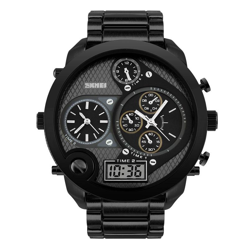 Đồng hồ điện tử nam  Skmei Aviator Watch Oversized