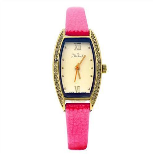 Đồng hồ nữ viền pha lê thời trang Julius JA-743