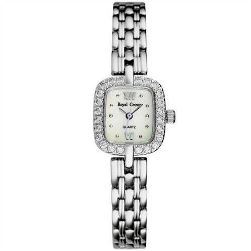 Đồng hồ nữ Royal Crown mặt vuông cuốn hút
